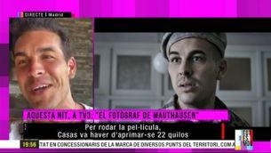 """Mario Casas ens presenta """"El fotògraf de Mauthausen"""""""