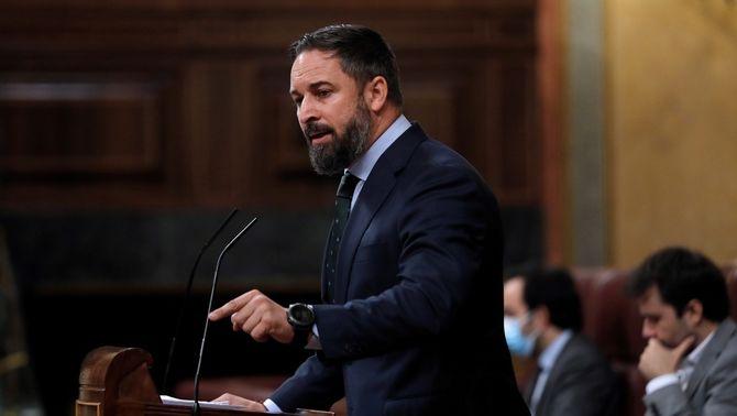 Vox anuncia al Congrés una moció de censura contra Sánchez al setembre