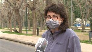 """L'heroïna del bus de Lleida: """"El conductor va caure rodó i vaig agafar el volant"""""""