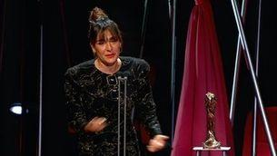 """Candela Peña: """"Aquest premi és meu i me l'emporto!"""""""