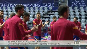 El Barça busca la segona Champions de futbol sala en sis mesos
