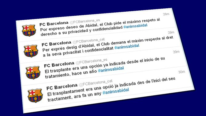 "L'etiqueta #animsabidal es converteix en ""trending topic"" mundial"