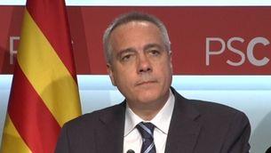 El primer secretari del PSC, Pere Navarro.