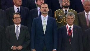Xiulada a l'himne espanyol