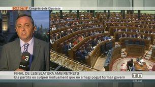 Final de legislatura entre retrets