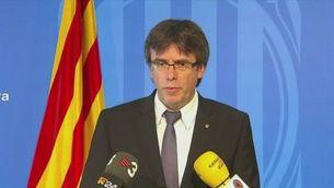 Puigdemont diu que la Unió Europea ha de frenar la desafecció i la xenofòbia