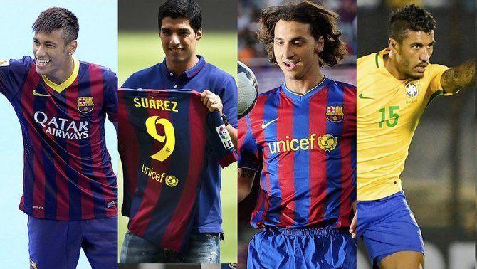 Paulinho es converteix en el quart fitxatge més car de la història del FC Barcelona