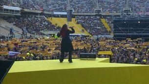 """""""Els segadors"""" en versió heavy ressonen al Concert per la Llibertat"""