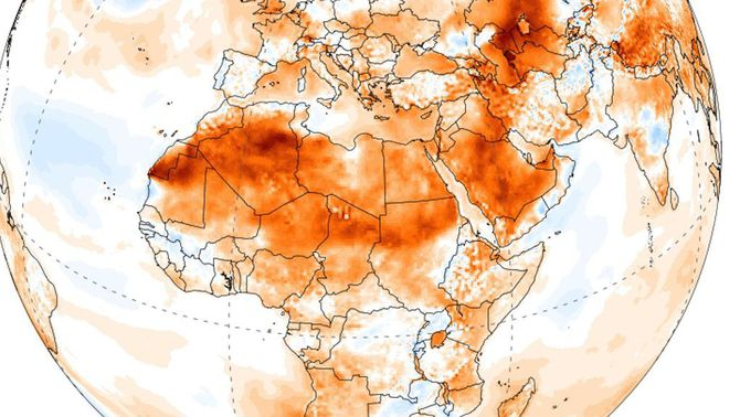 Possible rècord de calor a l'Àfrica: 51,3º C a Ouargla, Argèlia