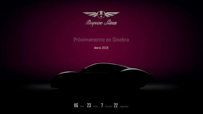 Del nou model que es vol presentar a Ginebra només se n'ha vist la silueta a la web de la marca on es fa el compte enrere de la presentació ( H…