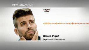 Gerard Piqué critica la directiva