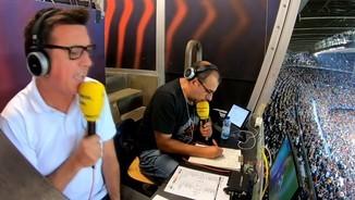 Imatge de:El doblet de Suárez al Barça-Inter, cantat per Bernat Soler