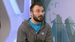 """Albert Botran (CUP): """"Podria haver un front unitari català al Congrés amb l'autodeterminació i l'amnistia com a condició"""""""