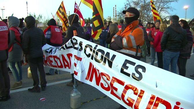 Vaga sense precedents a la petroquímica de Tarragona arran de l'explosió a IQOXE