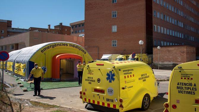 """La situació a l'Arnau de Vilanova: """"Recorda el març, però ara estem preparats"""""""