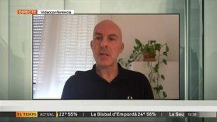 """Entrevista a Àlex Arenas, físic i catedràtic de la URV: """"""""Cal confinar l'àrea de Barcelona"""""""