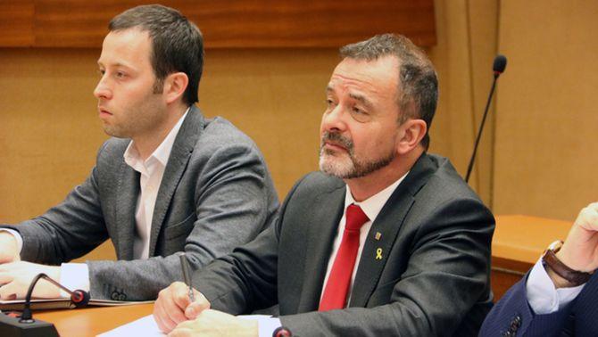 ERC exonera Alfred Bosch del cas d'assetjament sexual del seu excap de gabinet