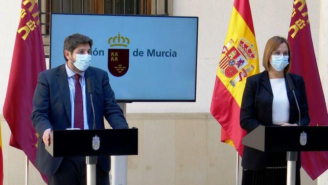 El PP frena la moció de Múrcia integrant al govern tres diputats trànsfugues de Cs