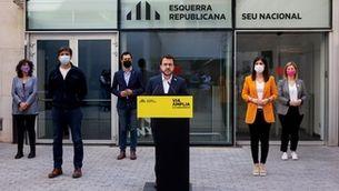 Els números per investir Aragonès: què ha de passar perquè ERC governi en solitari