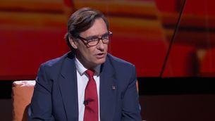 """Salvador Illa: """"Els indults s'han de donar per obrir un nou temps a Catalunya"""""""