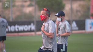 L'exèrcit vacunarà els jugadors de la selecció espanyola de futbol