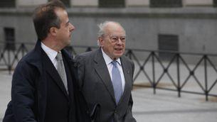 Jordi Pujol arriba a l'Audiència Nacional, a Madrid