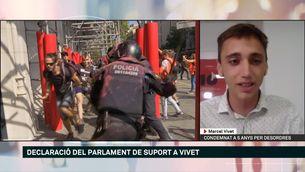 """Marcel Vivet: """"La sentència es basa en la declaració del mosso, no hi ha cap prova"""""""