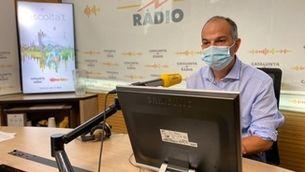 Jordi Turull, a l'estudi 1 de Catalunya Ràdio