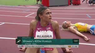 Nou rècord del món: McLaughlin, als 400 m tanques