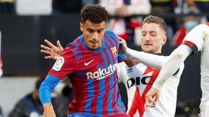 Coutinho, del Barça, i Balliu, del Rayo