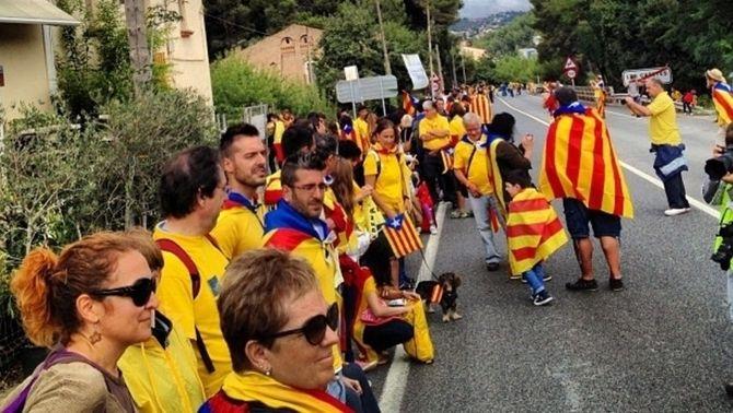 Catalunya exhibeix al món la seva via independentista