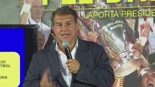 """Joan Laporta: """"La Masia és una de les inversions més rendibles que té el club"""""""
