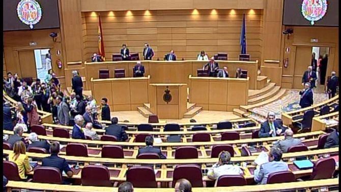 El PP s'imposa al Senat per majoria absoluta amb 123 de 208 senadors