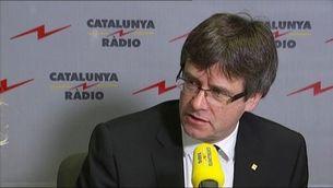 """Puigdemont: """"Si hagués descobert que l'acord havia de mutar, no m'hi hauria ficat"""""""