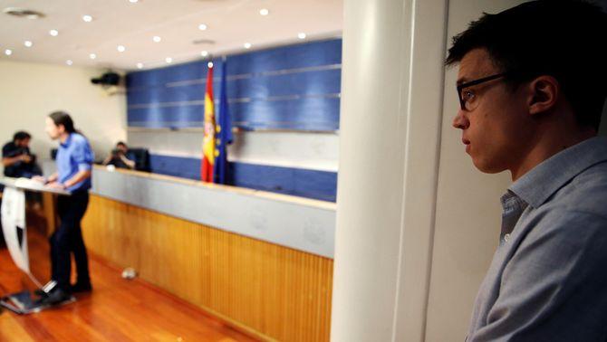 """Errejón creu que l'aliança amb IU """"no ha funcionat"""" i que caldrà """"avaluar-la"""""""