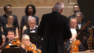 Imatge de:William Christie du el Messies de Händel al Palau de la Música amb Les Arts Florissants