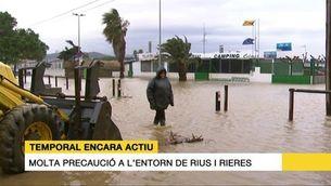 Les destrosses del temporal a les costes del Maresme i el Garraf