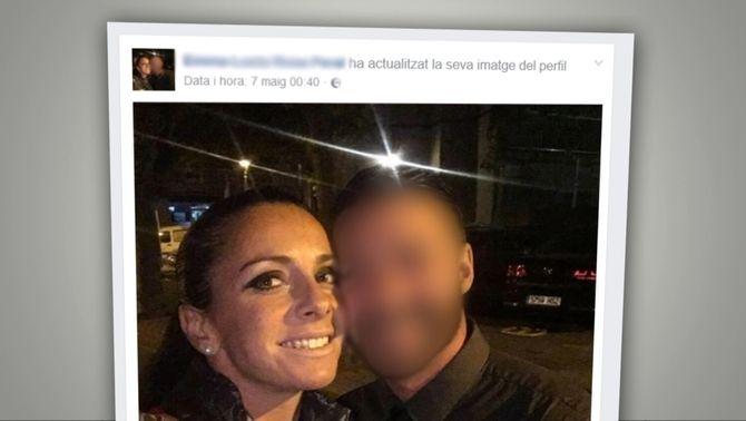 Fotografia de la detinguda amb la víctima