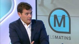 """Rivera planteja un nou 155 i acusa TV3 de """"mentir"""""""