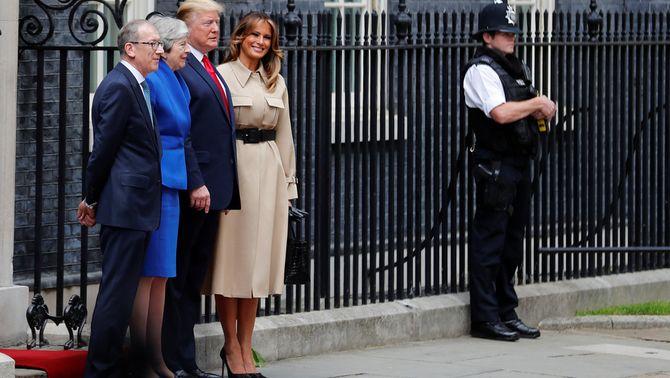 """Trump anuncia un acord comercial """"fenomenal"""" amb el Regne Unit post-Brexit"""
