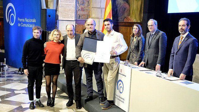 """""""Merlí"""" recull el Premi Nacional de Comunicació"""