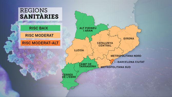 El govern proposa que només tres regions sanitàries passin a la fase 1 dilluns