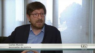 Carles Mundó reclama gairebé 20.000 euros d'indemnització a l¿Estat per haver estat 33 dies a la presó