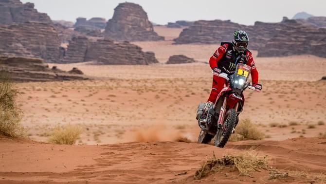 Ricky Brabec i Yazeed Al Rajhi, vencedors de la desena etapa del Dakar