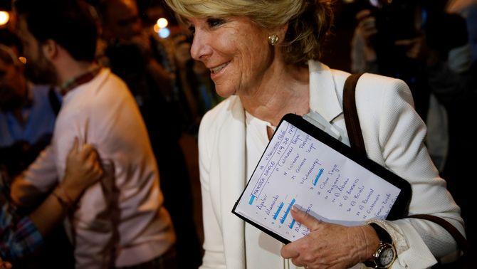 Bárcenas implica Esperanza Aguirre en el cobrament de comissions il·legals del PP