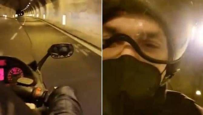 Ibrahimovic pateix un accident amb el seu cotxe i un 'tifosi' el porta amb moto