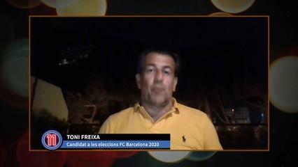 Toni Freixa expressa la seva tristor per la marxa de Messi
