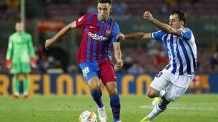 Nico per Balde a la convocatòria del Barça