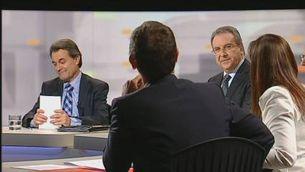 """""""Debat a 6"""" a TV3: El concert econòmic"""
