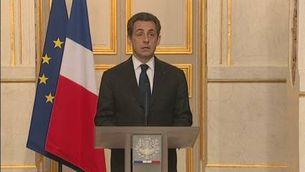 Sarkozy apel·la a la unitat nacional
